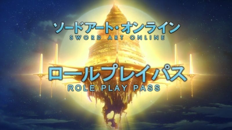 Sword Art Online : Role Playing Pass