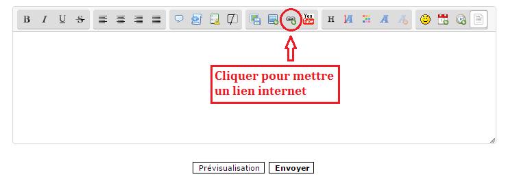 Insérer un lien internet Lien_i10