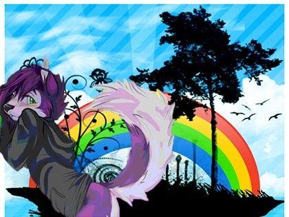 My Photoshop attempt Wolf_p11