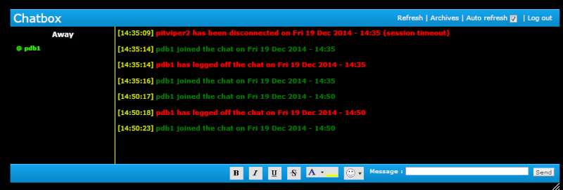 change time out for chat Chat_d11