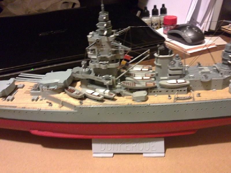 FN - Cuirassé Dunkerque à 1/400 Heller réf. 81073  23_04_12