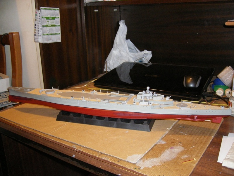 HMS Repulse a 1/350 de Trumpeter Imgp0610