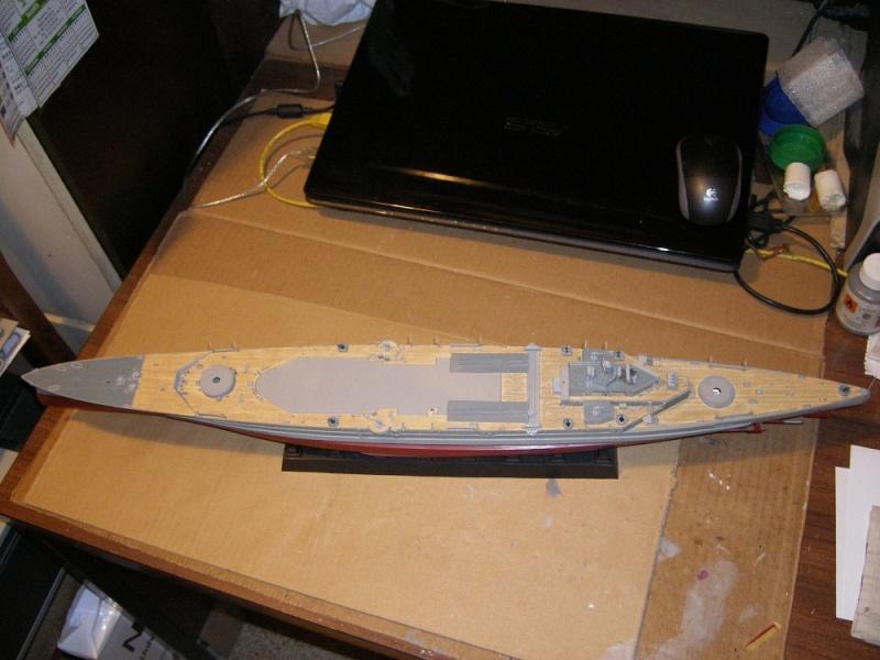 HMS Repulse a 1/350 de Trumpeter Imgp0611
