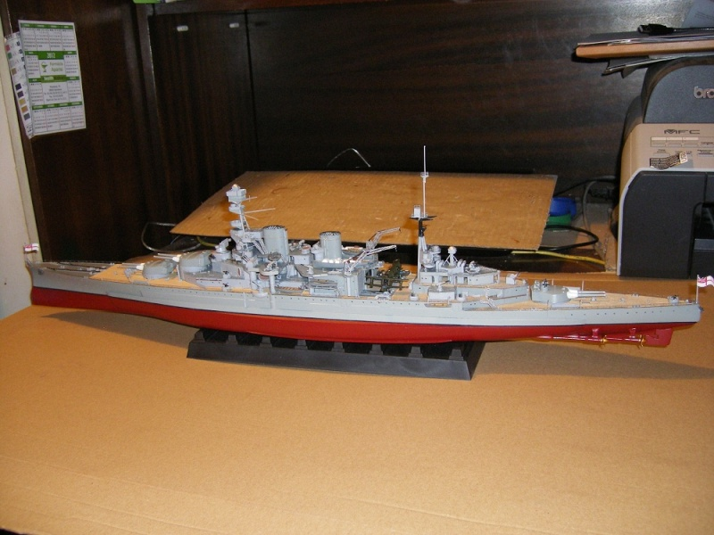 HMS Repulse a 1/350 de Trumpeter Imgp0614