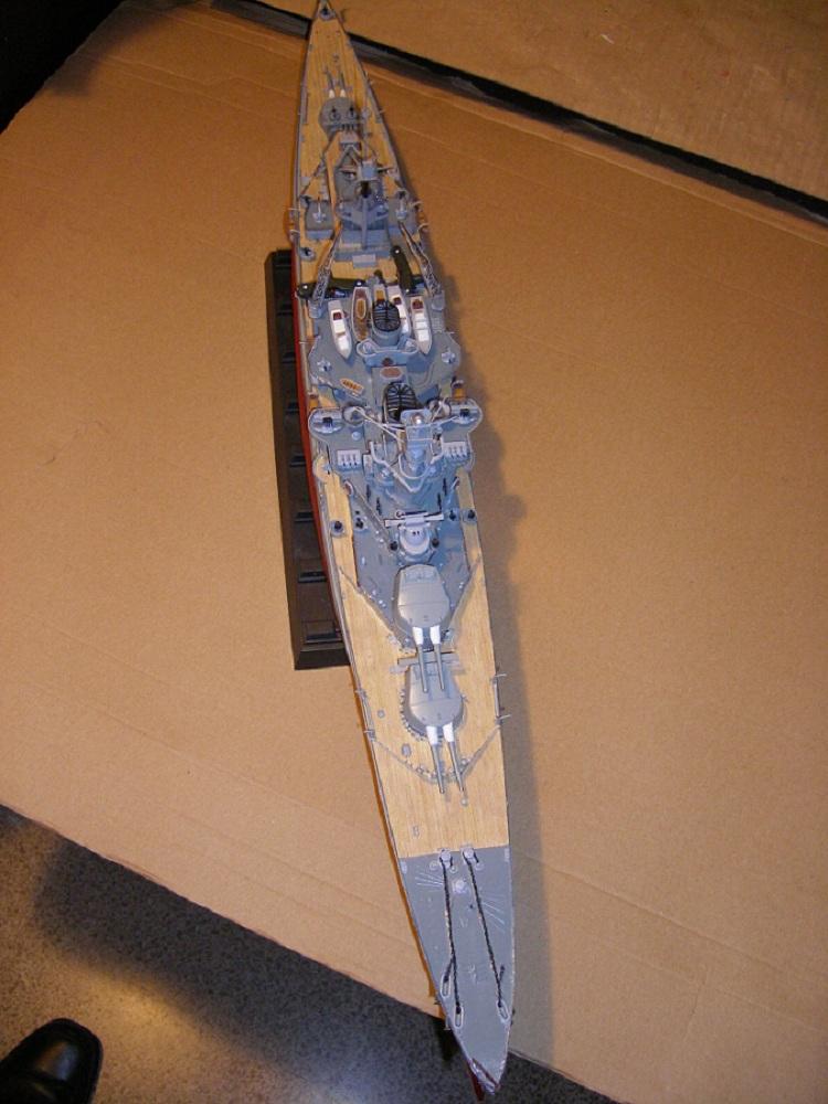 HMS Repulse a 1/350 de Trumpeter Imgp0620