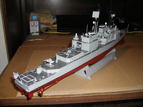 Destroyer USS Kidd DDG-993 à 1/350 Dragon ref. 1014  Imgp0633