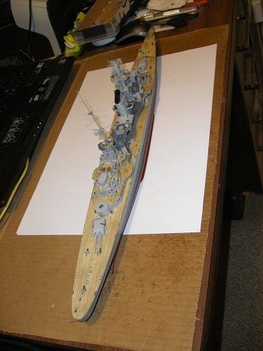 Allemande Croiseur lourd Prinz Eugen 1945 Trumpeter 1/350 réf. 05313  Imgp0635