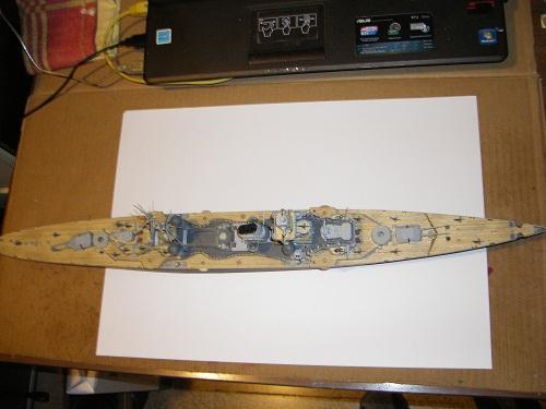 Allemande Croiseur lourd Prinz Eugen 1945 Trumpeter 1/350 réf. 05313  Imgp0636