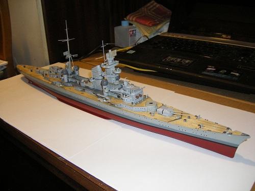 Allemande Croiseur lourd Prinz Eugen 1945 Trumpeter 1/350 réf. 05313  Imgp0637