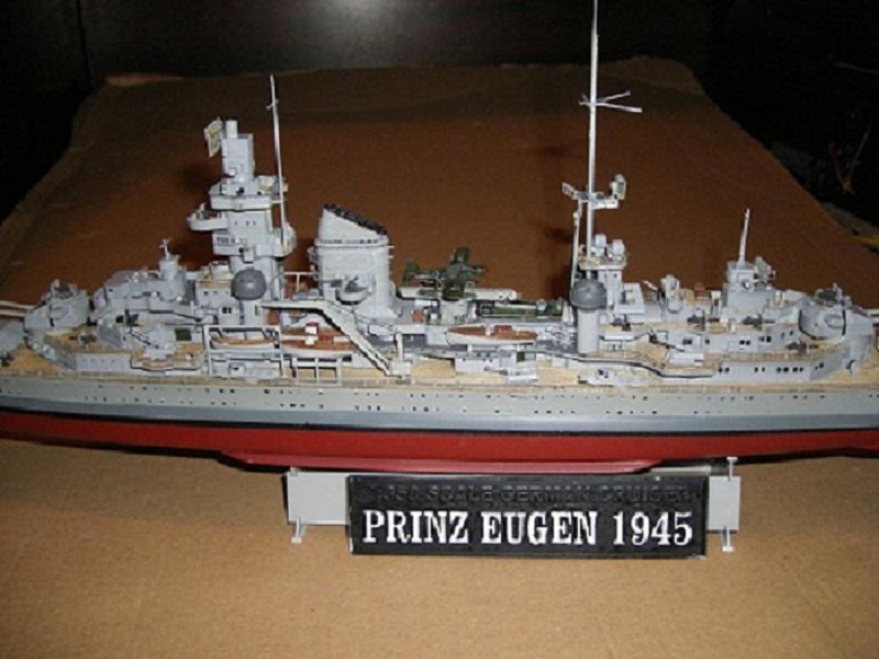 Allemande Croiseur lourd Prinz Eugen 1945 Trumpeter 1/350 réf. 05313  Imgp0644