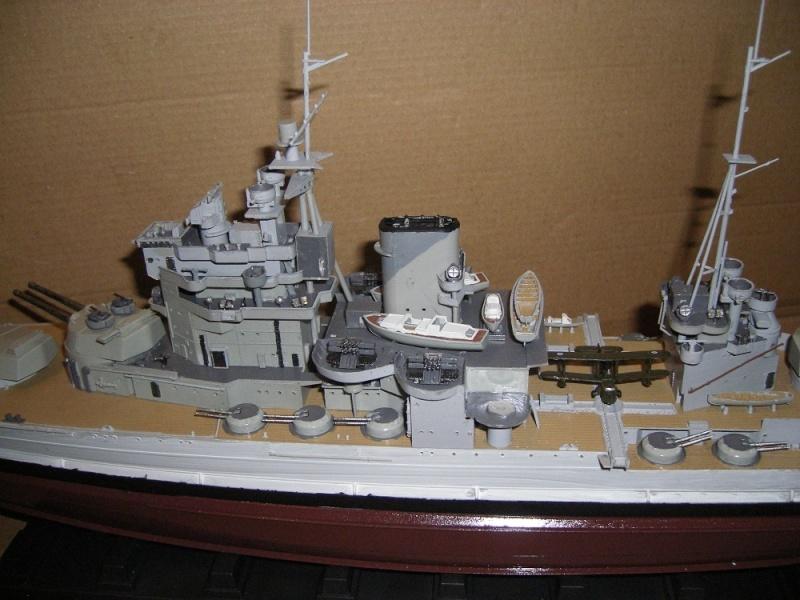HMS Queen Elizabeth classe -Battleship 1/350 Trumpeter ref. 05324  Imgp0647