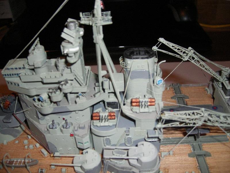 Bristish Battleship Prince of Wales à 1/350 Tamiya ref. 78011 Imgp0713