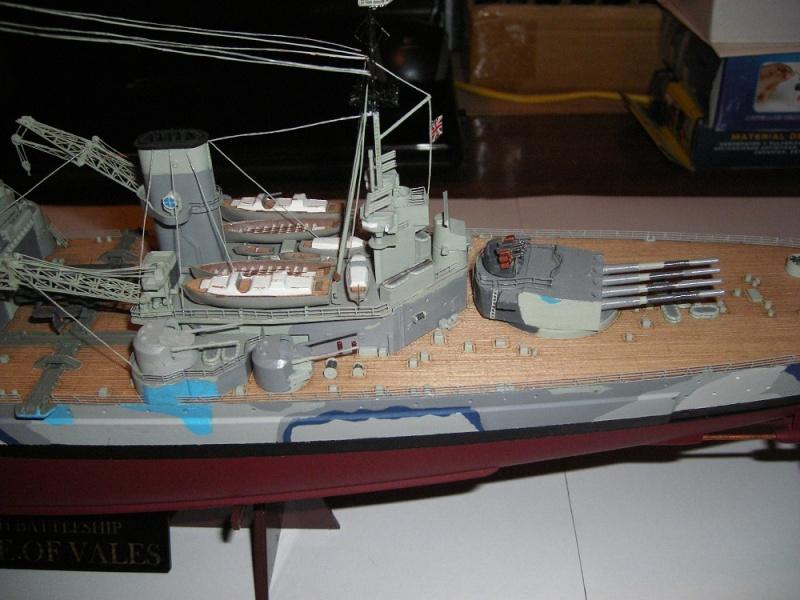 Bristish Battleship Prince of Wales à 1/350 Tamiya ref. 78011 Imgp0714
