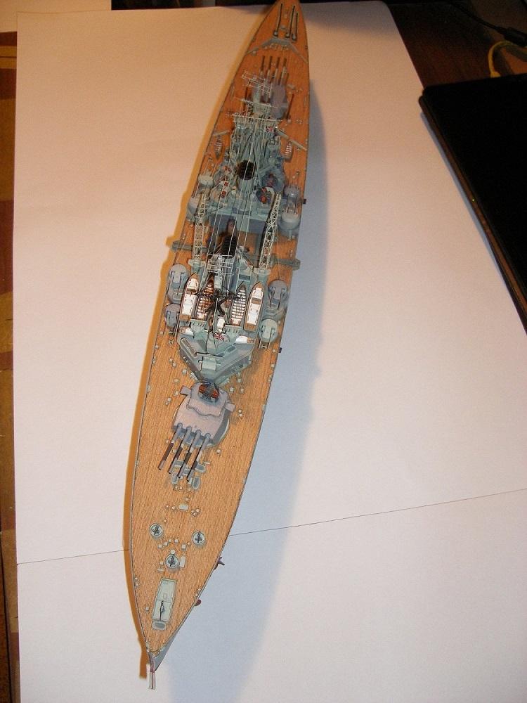 Bristish Battleship Prince of Wales à 1/350 Tamiya ref. 78011 Imgp0717