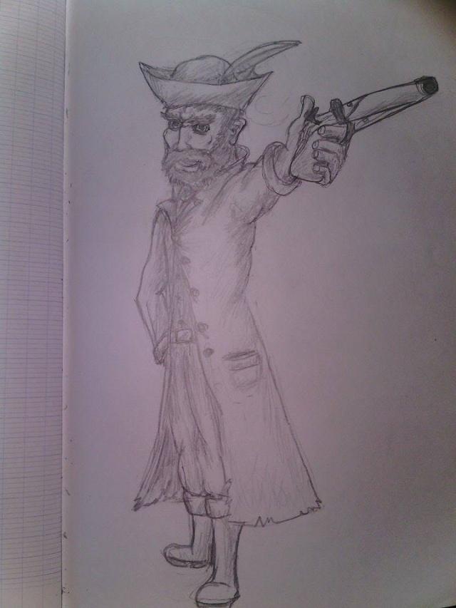 "Et il crit ""Yaaar"" Pirate10"
