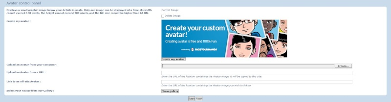 Adding an avatar to your profile Avatar10