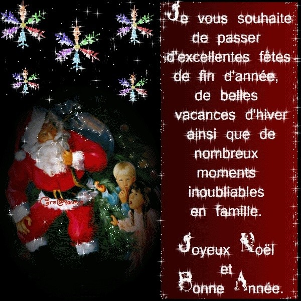 Le père Noël ammène sa hotte remplie de cadeaux pour tous les enfants sages! A_noel10