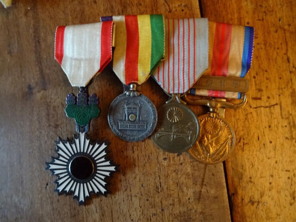 Barrette de médailles japonaise S-l16010
