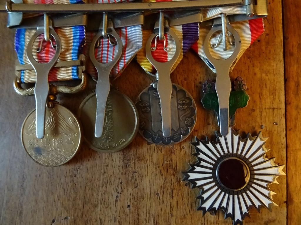 Barrette de médailles japonaise S-l16011
