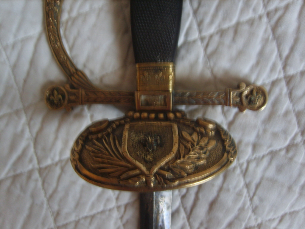 Epée 1er Empire modifiée Restauration S8005114