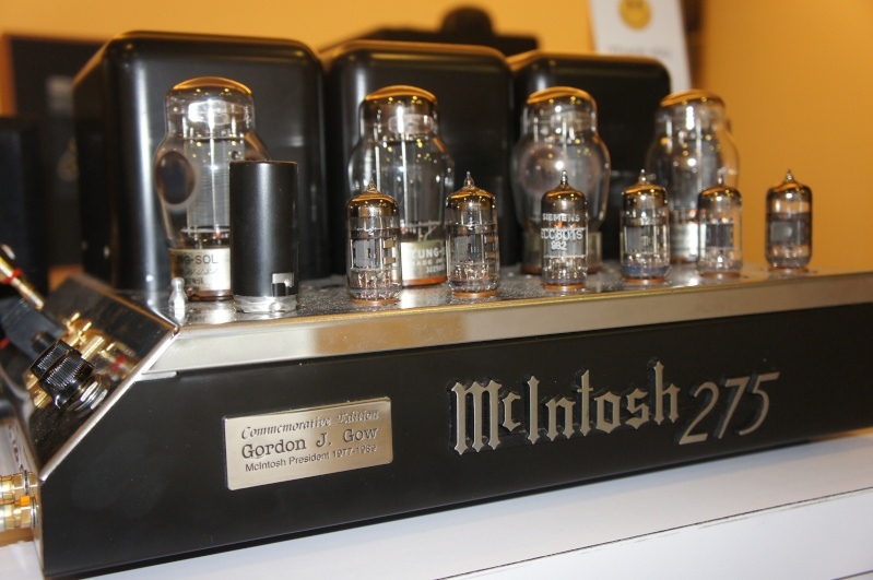 [b]Mcintosh MC275 Commemorative Edition Tube Amplifier (Used)[/b] Dsc07713