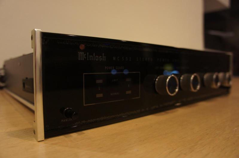 mcintosh mc502 power amplifier used