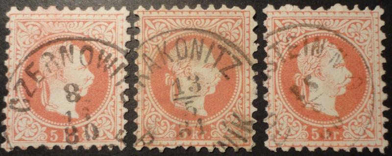 Freimarken-Ausgabe 1867 : Kopfbildnis Kaiser Franz Joseph I - Seite 7 Dsc02913