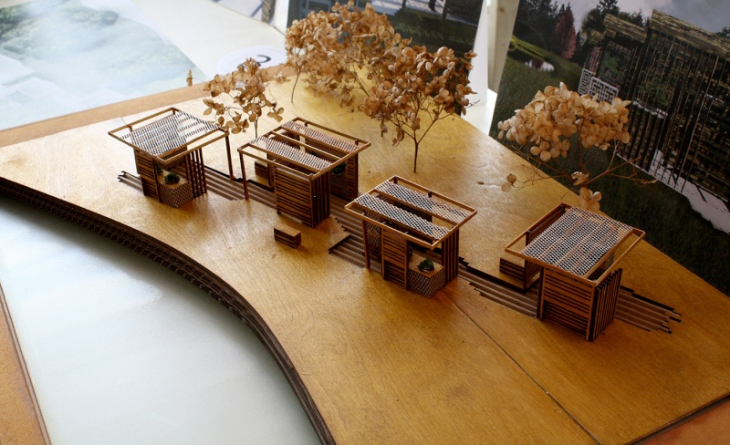 Exhibition of Design Proposals for a New Permanent Bonsai Garden 008_an10