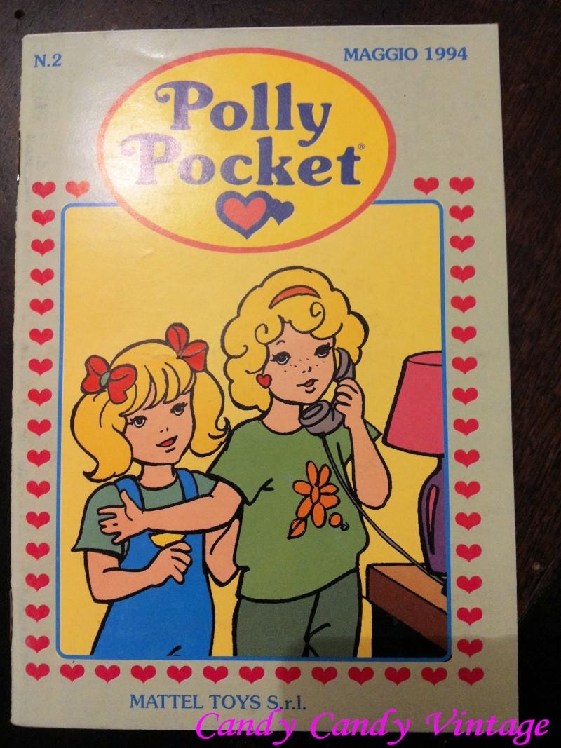 [VENDO] Polly Pocket fumetti 2 inserti Mattel 1994 Vintage 20140917
