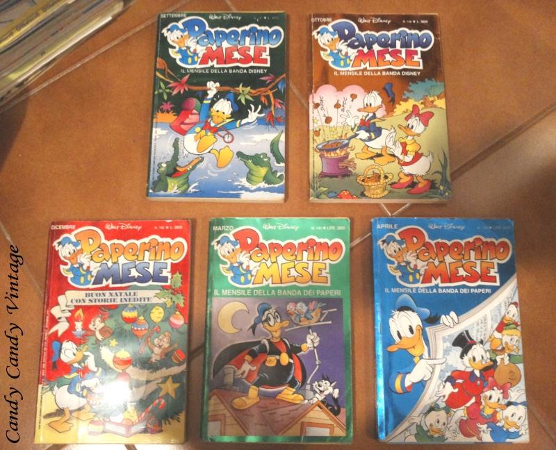 [VENDO] Lotto divisibile PAPERINO mese Disney 1992 20141016