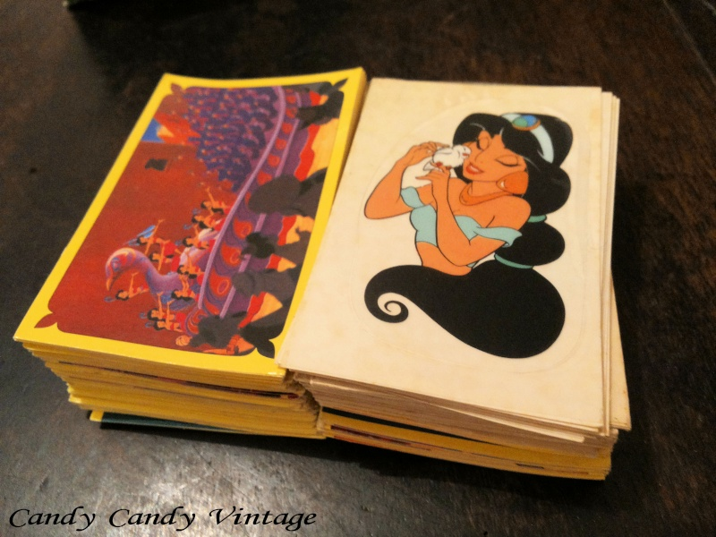 [VENDO] figurine ALADDIN Disney Panini 1993 manco lista complete 20141022