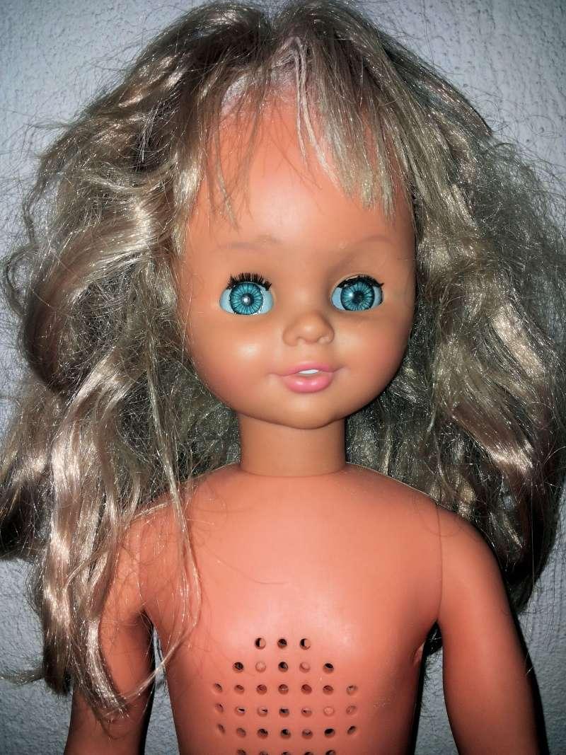 BAMBOLA - [VENDO] Sebino bambola grande 1980 Vintage con disco da sistemare Rara 20141213