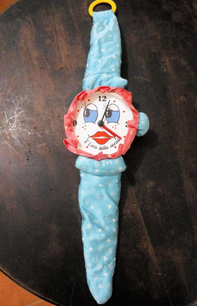 [VENDO] Orologio anni 80 Vintage da parete grande ottimo 20141229