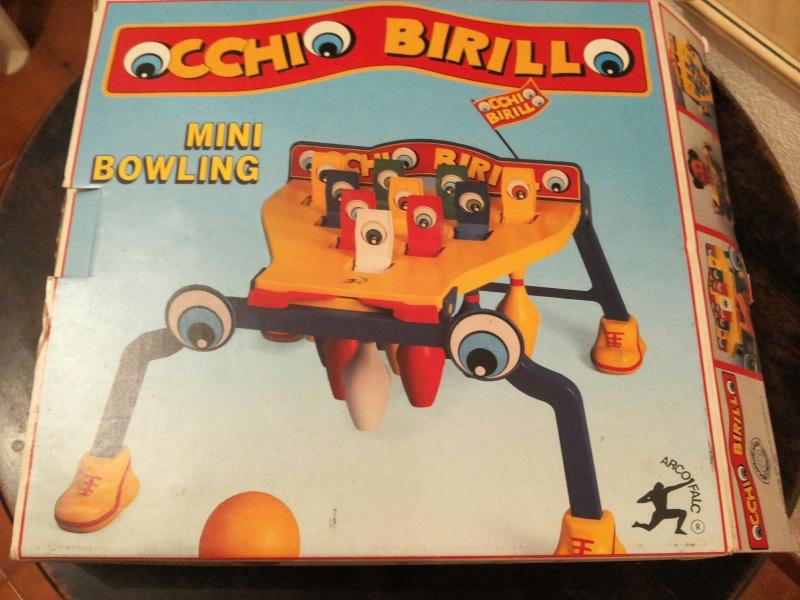 [VENDO] Occhio Birillo Gioco società anni 80 Arcofalc ottimo 20141234