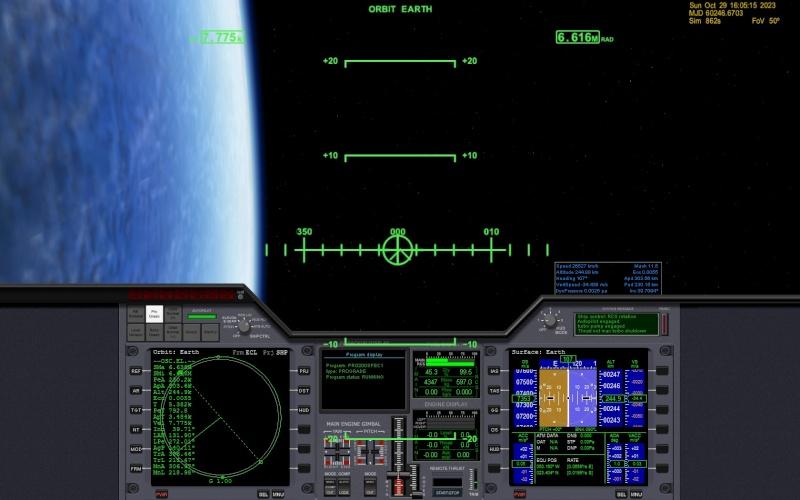 Prime esperienze con Deltaglider IV Orbit11