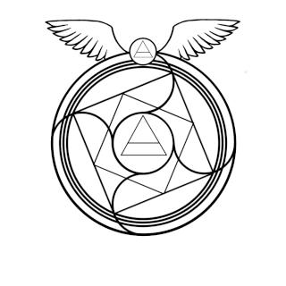 Existent transmutation circles Flying10