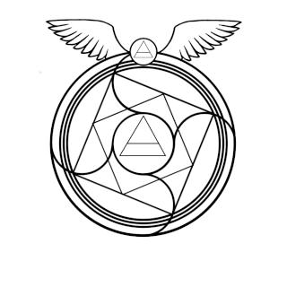 Existent transmutation circles Flying12