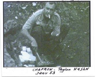 Paul CHAPRON nous a quittés le 16 décembre 2014 à 81 ans. Ancien de la 12° Cie du 6° B.P.C, bataillon Bigeard Capon210