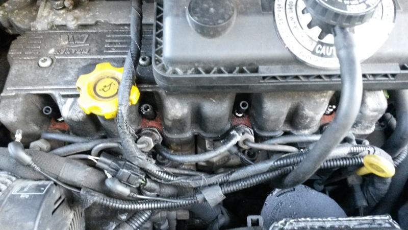Rupture de durite retour carburant 20141212