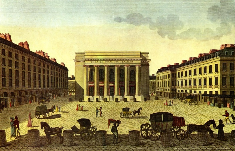 L'Opéra-Comique inauguré par Marie Antoinette Favart10