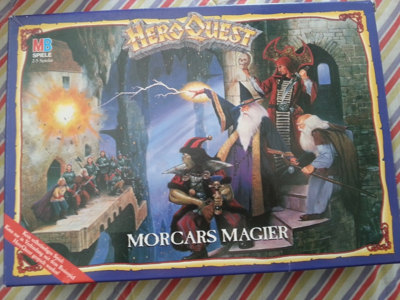 VENDO - Heroquest, Dungeons & Dragons Hq-mor11
