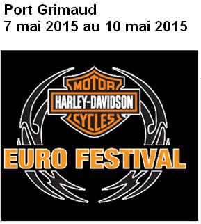 L'Eurofestival Harley Davidson 2015 Port Grimaud Eurofe10