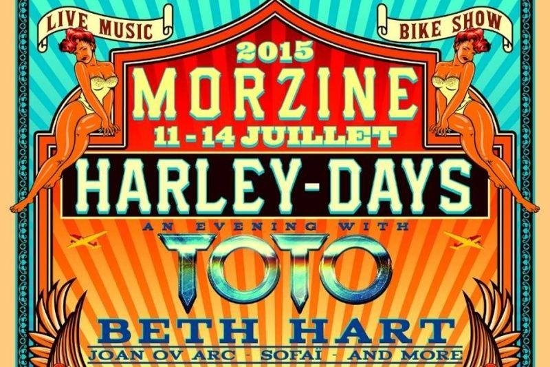Harley Days Morzine 2015 Harley10