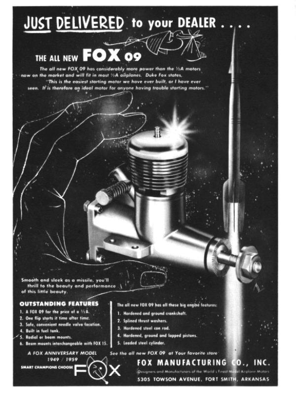 1959 Fox Rocket .09 5904ma11