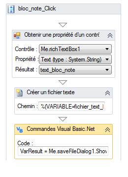 """Bug action """"Ouvrir une Boîte de sélection de fichier à enregistrer"""" Bouton10"""