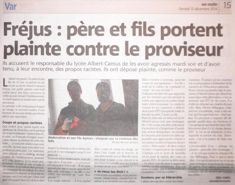 Lycée Albert Camus (Fréjus) : un proviseur raciste et violent ? Var_ma12