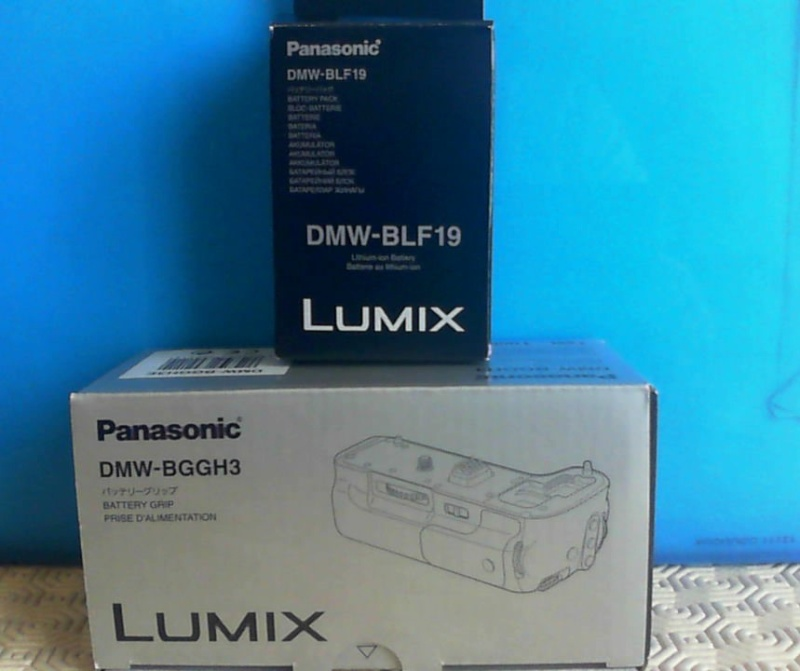 [VENDU] Grip + Batterie Panasonic GH3/GH4 originaux Surfac12