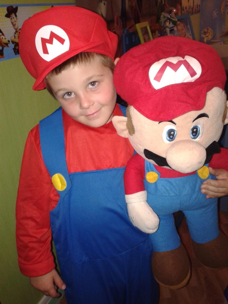 anniversaire de mon fils thème MARIO Mario11