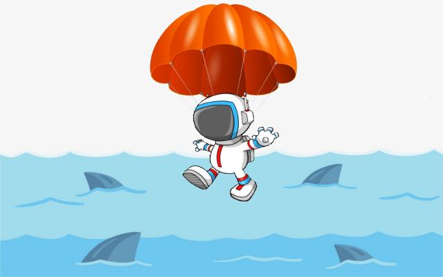 """""""Parachute"""" depuis l'orbite basse (ISS) Parach10"""