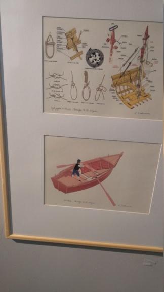 Izložba Terce jadranskih brodica Velimira Salamona Img_2281